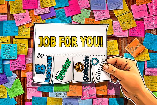 Cointelegraph Jobs: Blockchain, GateCoin, Elliptic, Trestor Seeking Employees