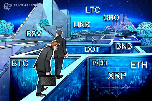 Análisis de precios del 21 de septiembre: BTC, ETH, XRP, BCH, DOT, BNB, LINK, CRO, LTC, BSV