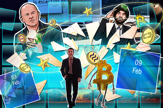 Bitcoin Hits $10K, Coinbase Controversy, Buffet with Buffett: Hodler's Digest, Feb. 3-9