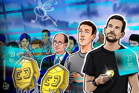 Bitcoin Madness, Zuckerberg in Congress, China's Blockchain Plans: Hodler's Dige