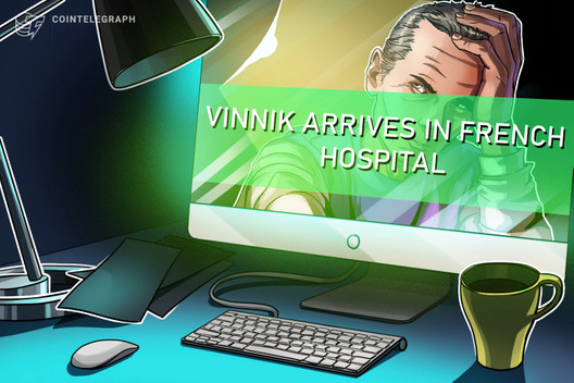 Accused Bitcoin Launderer Vinnik Reportedly Arrives at French Hospital