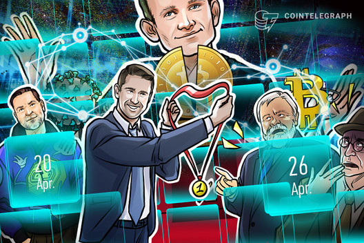 Crucial Moment for BTC, Bull Run Prediction, Halving Frenzy: Hodler's Digest, Ap