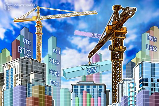 Price Analysis Mar 25: BTC, ETH, XRP, BCH, BSV, LTC, EOS, BNB, XTZ, LEO