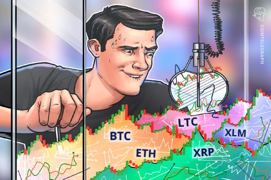 Las 5 principales criptomonedas a tener en cuenta esta semana: BTC, ETH, XRP, LTC, XLM