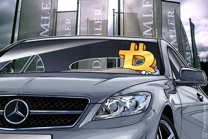mercedes benz buys a bitcoin company starting a payment