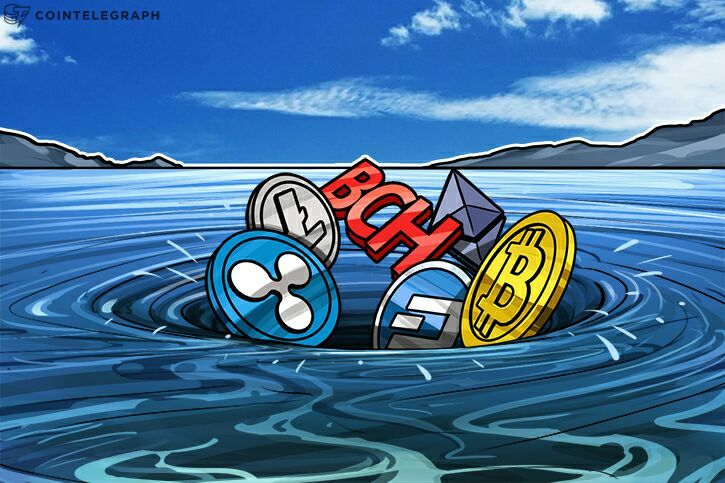Cryptocurrency Market Takes a Tumble as Ripple Bubble Fear Looms