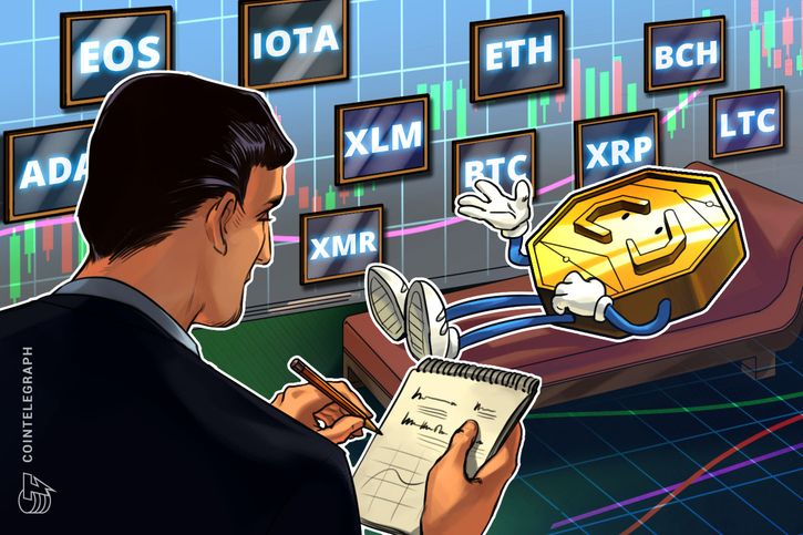 cointelegraph.com - Rakesh Upadhyay - Bitcoin, Ethereum, Ripple, Bitcoin Cash, EOS, Stellar, Litecoin, Cardano, Monero, IOTA: Price Analysis, September 19