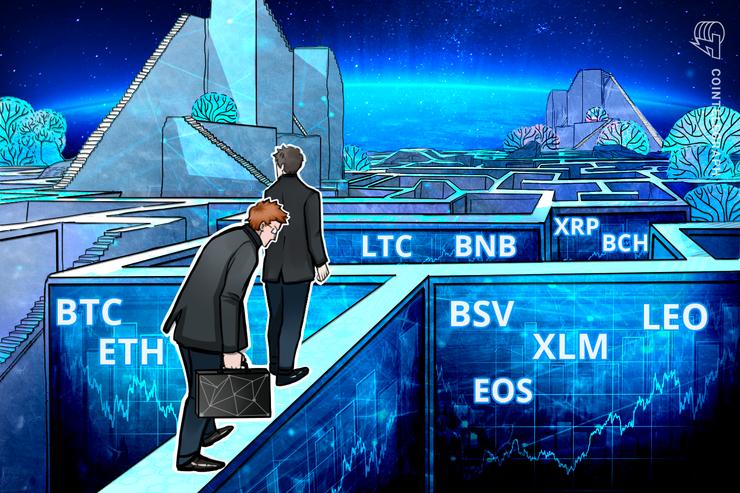 アルトコインにポジティブなサインも 仮想通貨ビットコイン・イーサ・リップル(XRP)のテクニカル分析