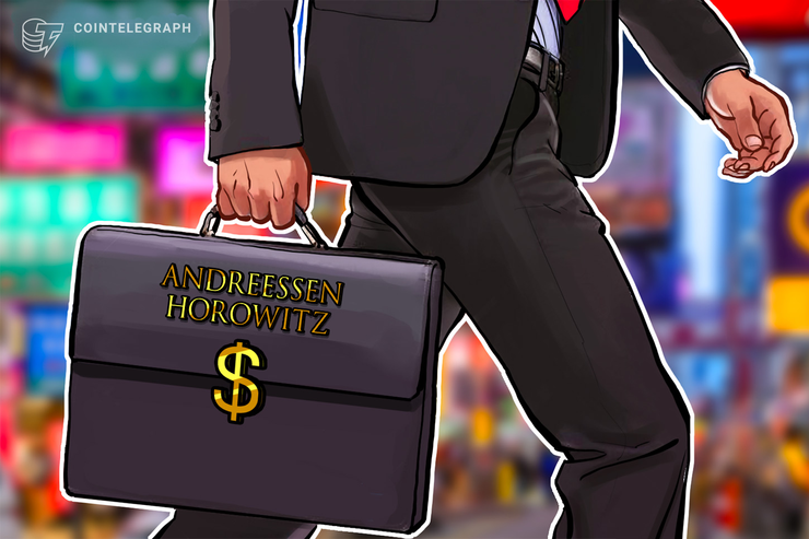Andreessen Horowitz Leads $25M Funding Round for Crypto Lending Startup