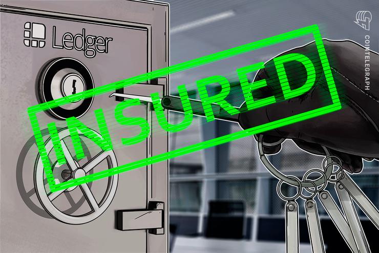 Ledger Vault asegura una póliza de seguro contra el delito de USD 150 millones para activos digitales