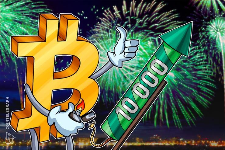 【速報】止まらないビットコイン、一気に1万ドル突破 「ありがとう中国」の声も【仮想通貨相場】