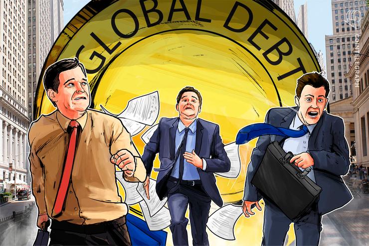"""""""O plano A falhou"""" — dívida global atingiu US$ 255 trilhões ou US$ 12,1 milhões por Bitcoin"""
