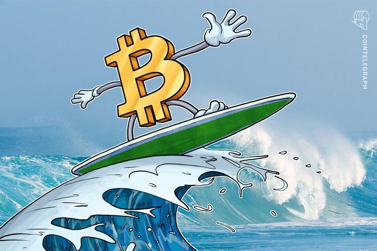 仮想通貨ビットコイン急伸、ETF拒否は「完全に織り込み済み」 イーサは心理的節目に急接近、XRPは一服