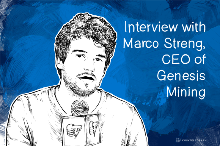 Interview with Marco Streng, CEO of Genesis Mining