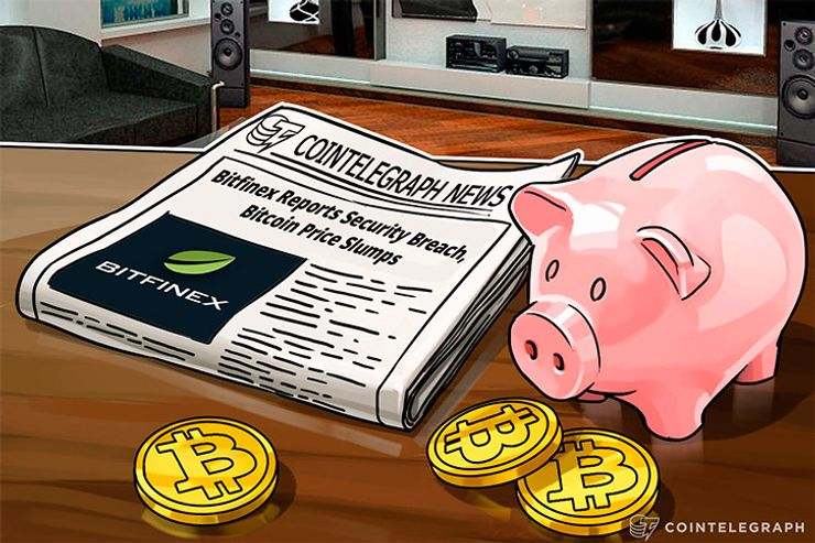 Bitfinex Reports Security Breach, Bitcoin Price Slumps