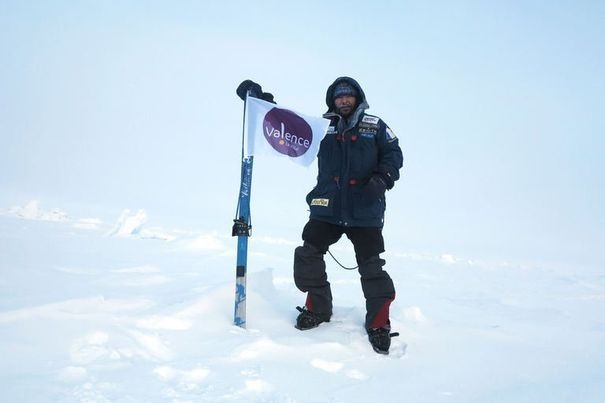 Incoming Bitcoin Transaction from the South Pole