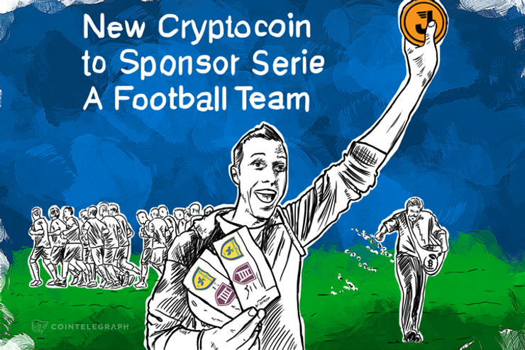 New Cryptocoin to Sponsor Serie A Football Team