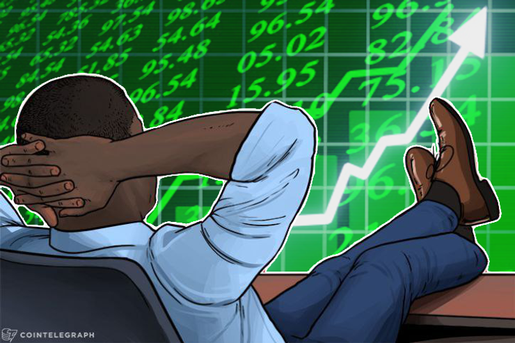 Gesamter Krypto-Börsenwert bei 400 Milliarden Euro