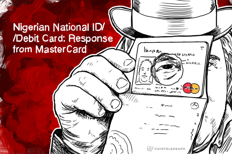 Nigerian National ID/Debit Card: Response from MasterCard