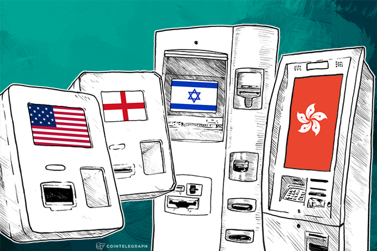 New BTMs: Bitcoinnect Launches 5 Machines in Hong Kong