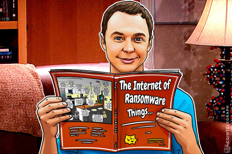 Devilish Cartoon Takes Reddit By Storm; Spoofs Internet of Things, Ransomware, Bitcoin