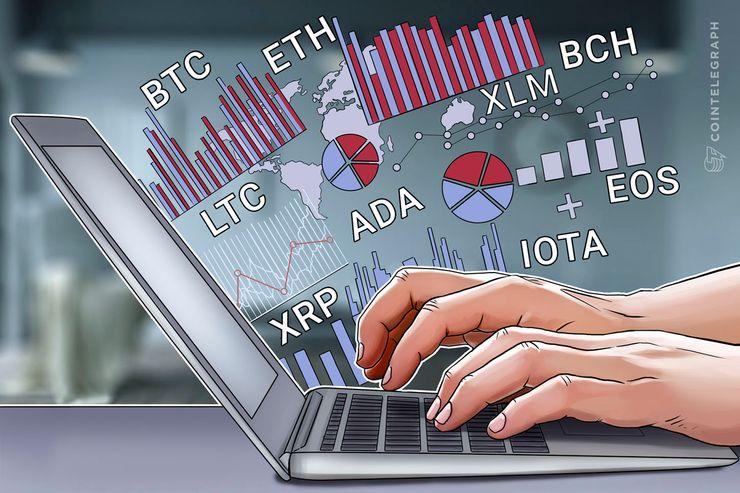 Bitcoin, Ethereum, Bitcoin Cash, Ripple, Stellar, Litecoin, Cardano, IOTA, EOS: Análise de Preços, 07 de Maio