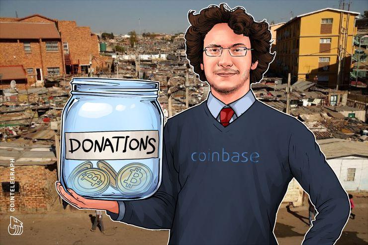 Coinbase-CEO startet gemeinnützige Initiative zur Unterstützung von Menschen in Schwellenländern
