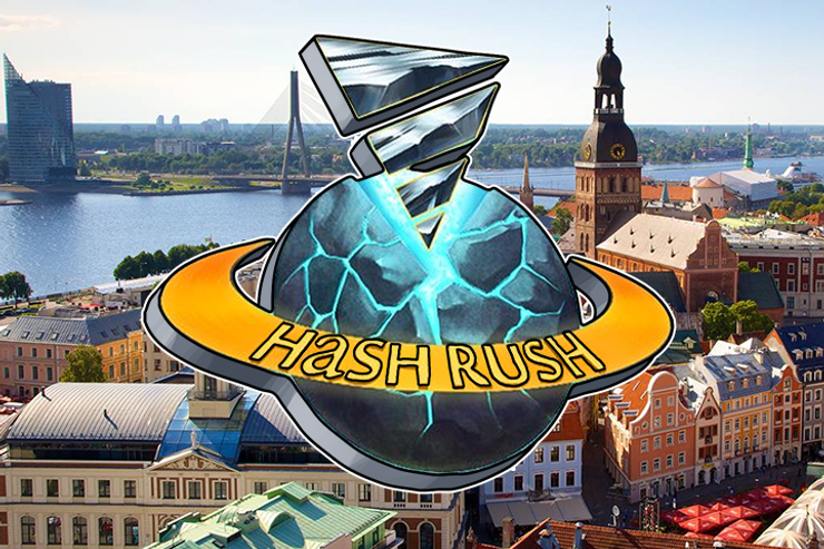 Hash Rush - First Hash-powered Online Game