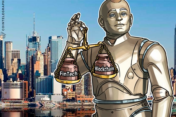 Fintech means Blockchain? Is there anything else?