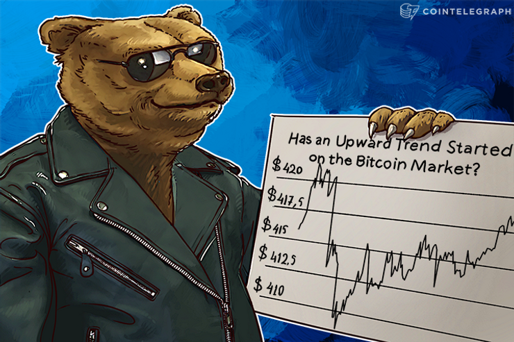 Has an Upward Trend Started on the Bitcoin Market?