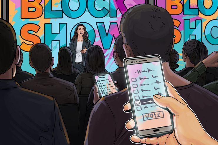 Voting For Blockchain Industry Leaders Now Open on BlockShow's Blockchain-Based Polling App