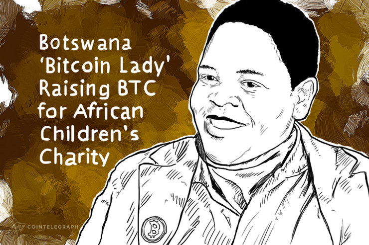 Botswana 'Bitcoin Lady' Raising BTC for African Children's Charity