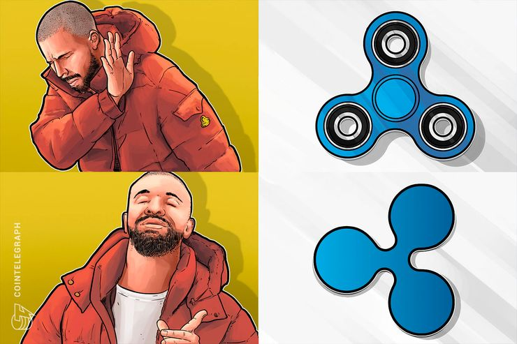 Ripple, not spinner