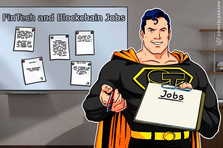 Cointelegraph Unveils Fintech and Blockchain Jobs Listing