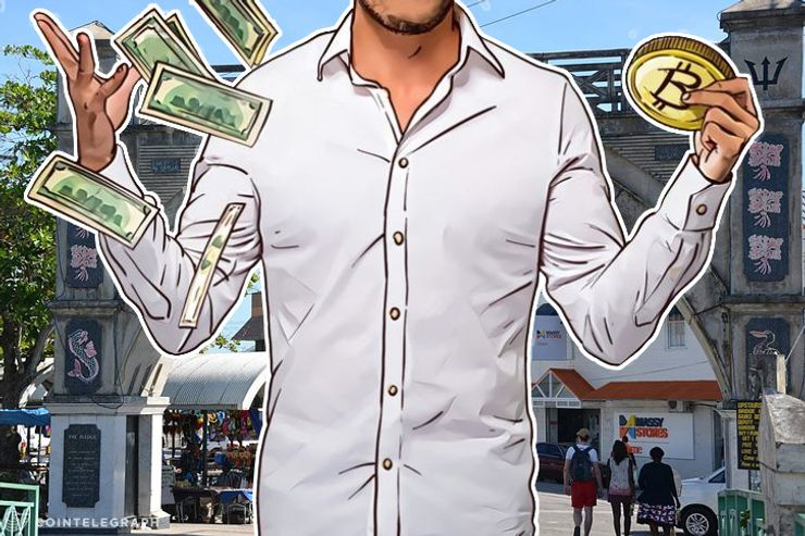 Former Barbados PM's Son - CEO for Blockchain Payments Startup