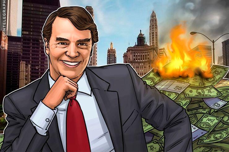 ビットコインで10バガー達成の米投資家「5年後、法定通貨を使うやつは笑い者に」