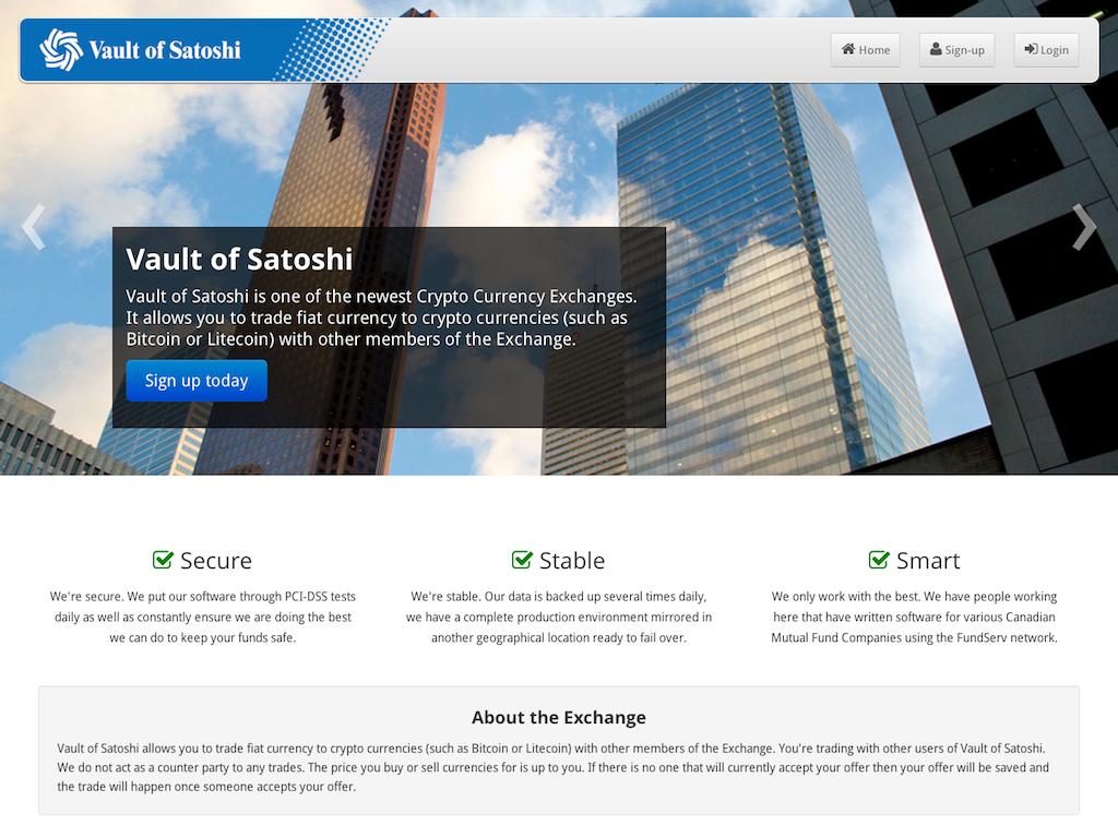 Major Update to the Vault of Satoshi