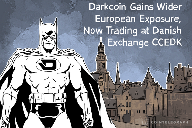 Darkcoin Gains Wider European Exposure, Now Trading at Danish Exchange CCEDK