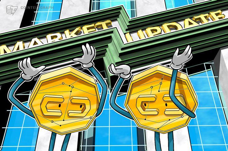 Mercati delle criptovalute in lieve rialzo: bitcoin sfiora quota 7.700$