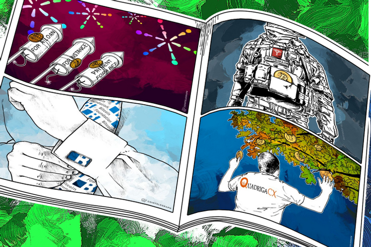 Weekend Roundup: Shopping with Bitcoins on the Mastercard Network, First Publicly Traded BTC Exchange