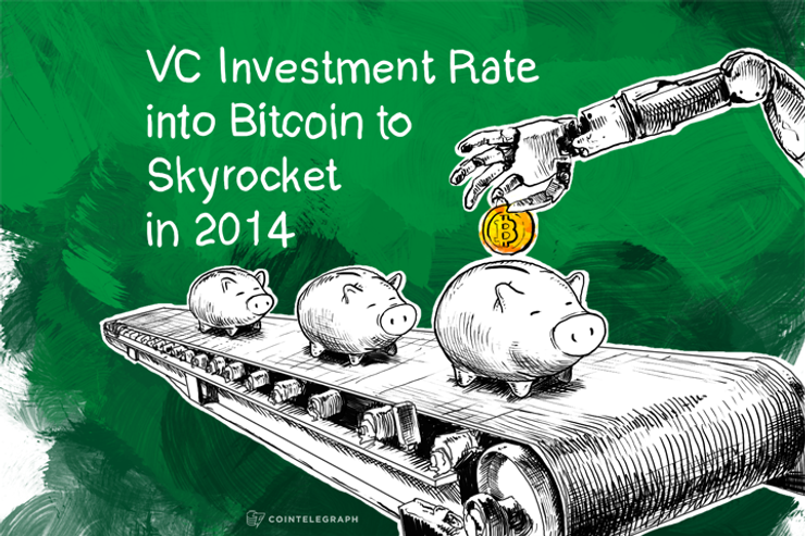 VC Investment Rate into Bitcoin to Skyrocket in 2014