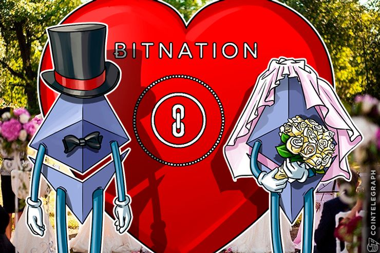 Bitnation Releases Marriage App, Smart Love, on Ethereum Blockchain