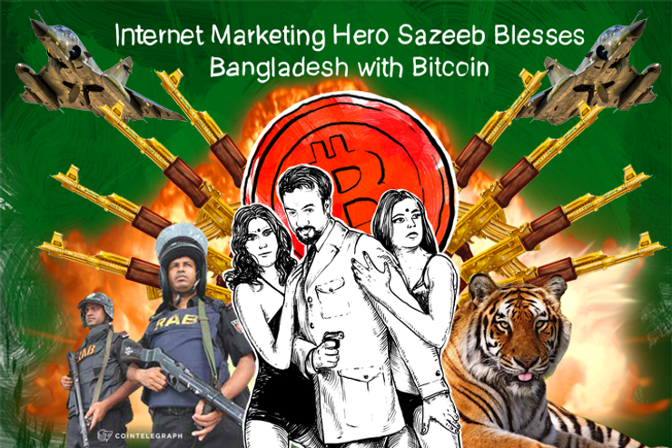 Internet Marketing Hero Sazeeb Blesses Bangladesh with Bitcoin