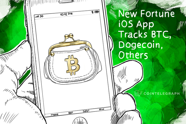 New Fortune iOS App Tracks BTC, Dogecoin, Others