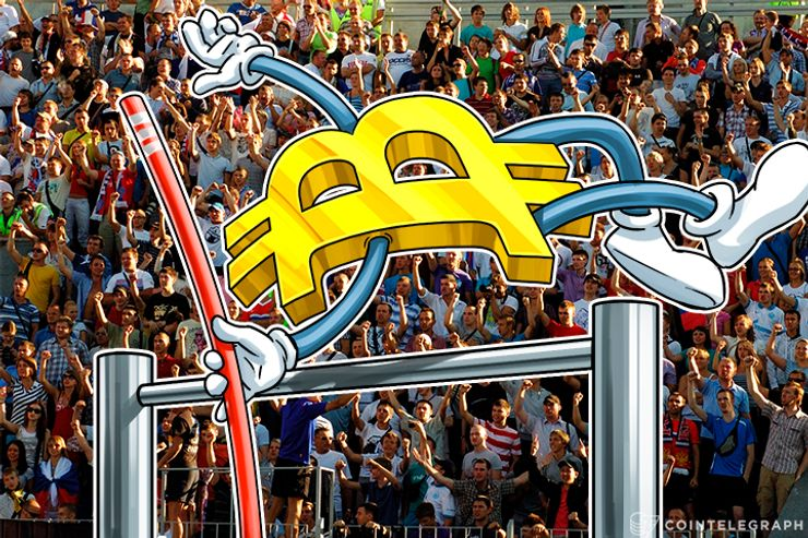 Bitcoin Beats Three Year Record in Euro, Jumps 4 percent in One Hour