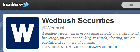Wedbush Securities a pioneer in accepting Bitcoin