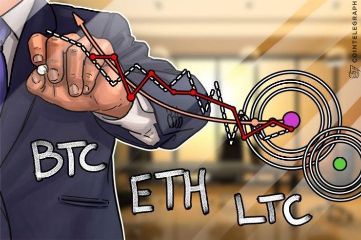 Bitkoin, itirijum, lajtkoin: Analiza cena za 26. oktobar