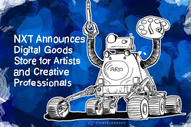 NXT Announces Digital Goods Store for Artists and Creative Professionals