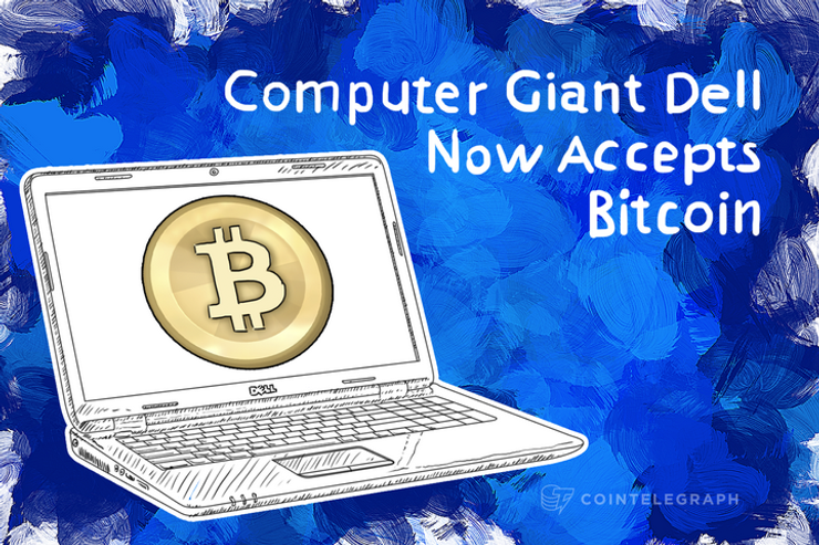 The Largest Company to accept Bitcoin: Dell