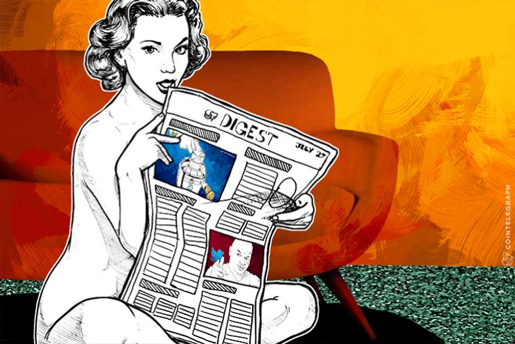 JUL 27 DIGEST: Former EU Stock Market CEO Joins Blockchain Startup; Hewlett Packard Shows Interest in Bitcoin